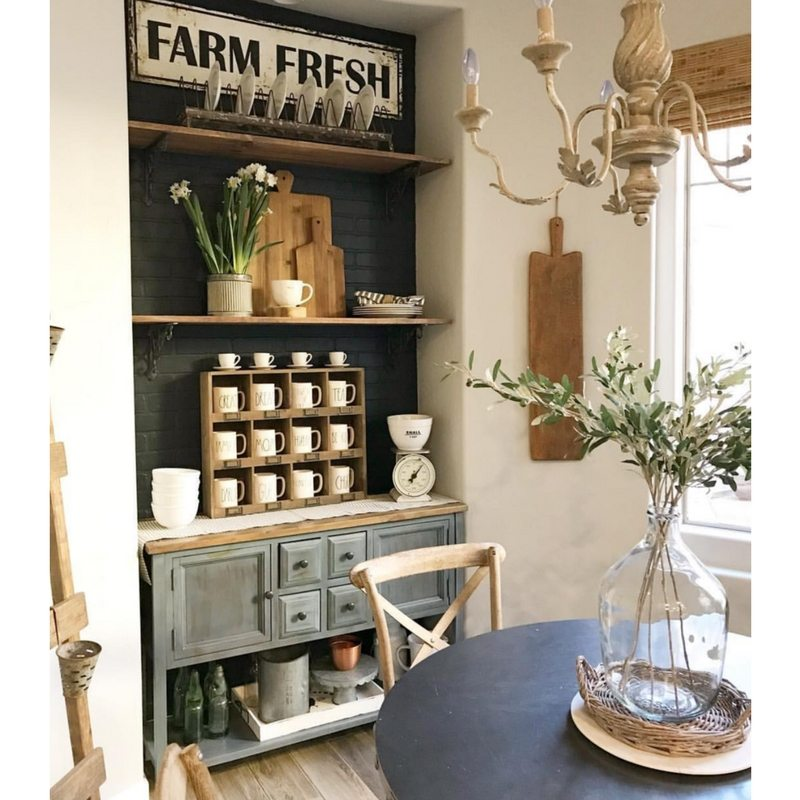 Farmhouse Kitchens Shabby Desert Nest