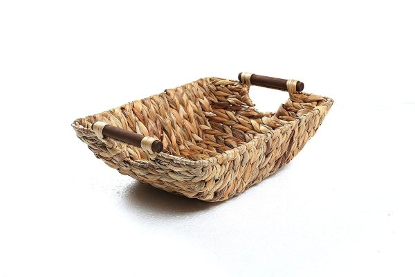 Amazon Linen Closet Hyacinth Basket