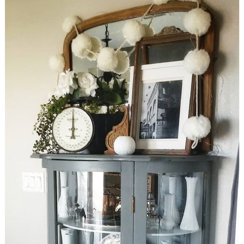 Vintage Scales Repurpose Decor