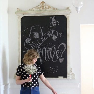 SMITTEN WITH THESE VALENTINE'S DAY CHALKBOARD LOVE MESSAGES