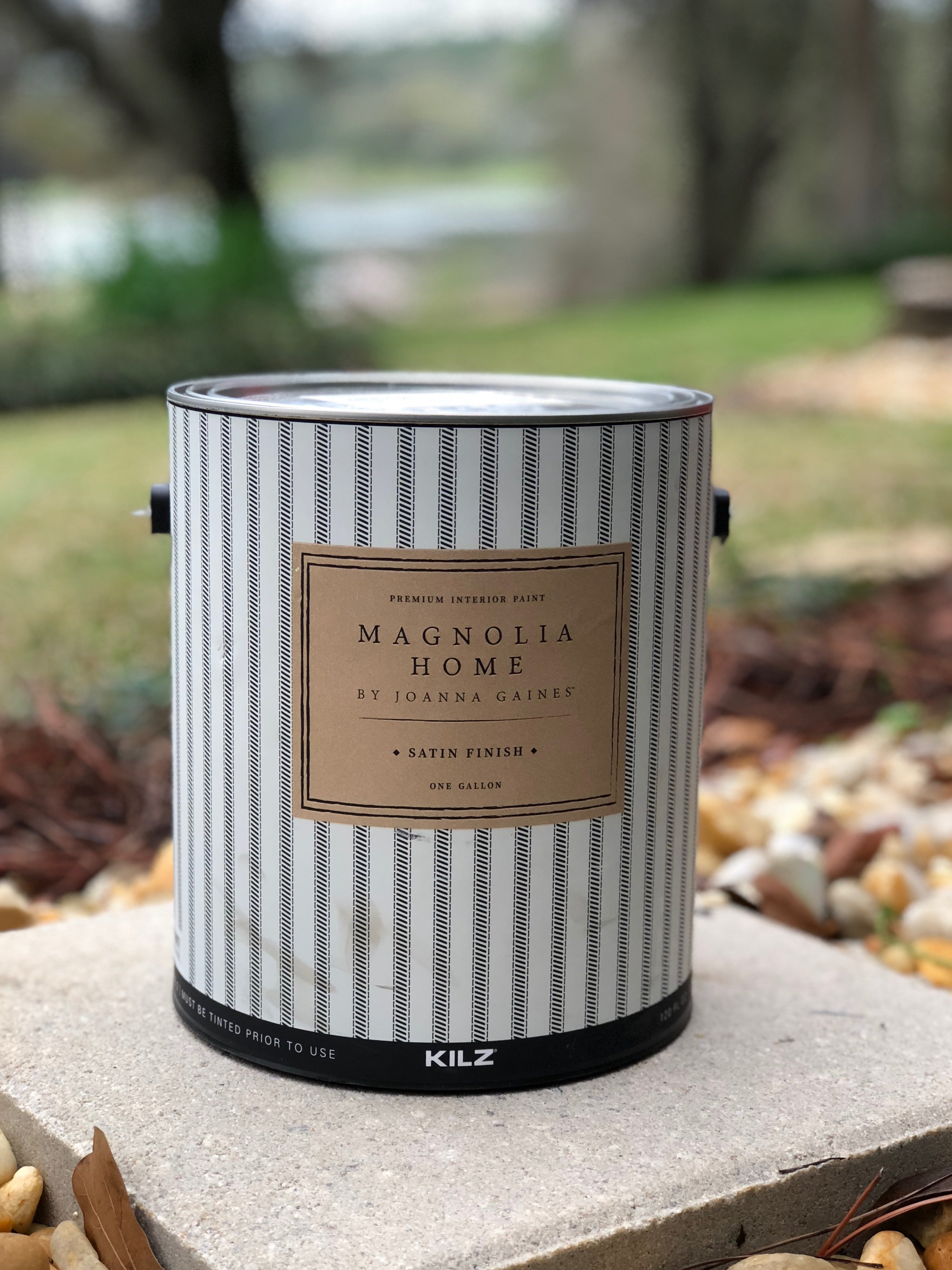 Painting a room Magnolia Home satin paint
