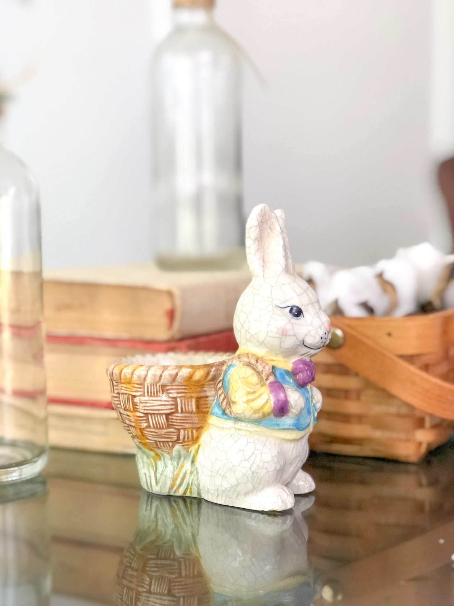 spring decor bunny accessory
