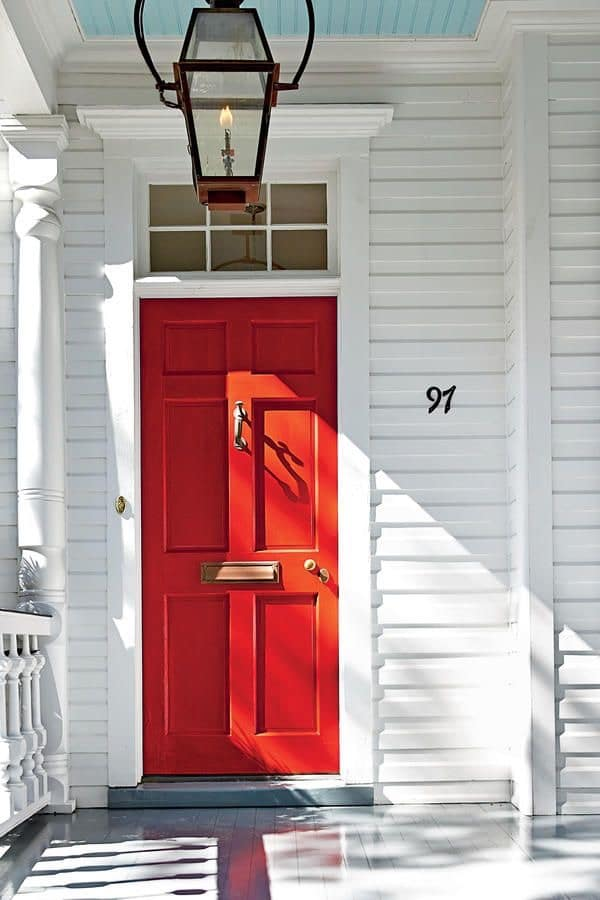 Popular Sherwin Williams exterior paint colors real red