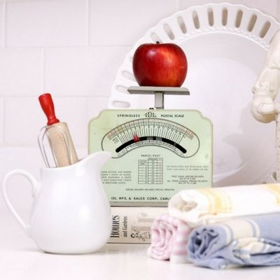 DECORATING WITH VINTAGE SCALES THAT WILL CREATE OUNCES OF FUN