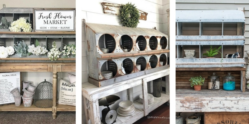 Chicken Nesting Boxes decorating
