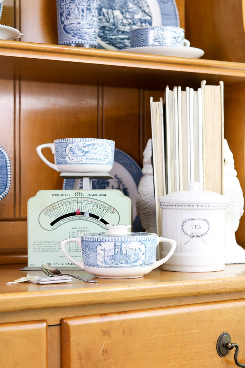 Serve up some tea and start decorating with vintage scales