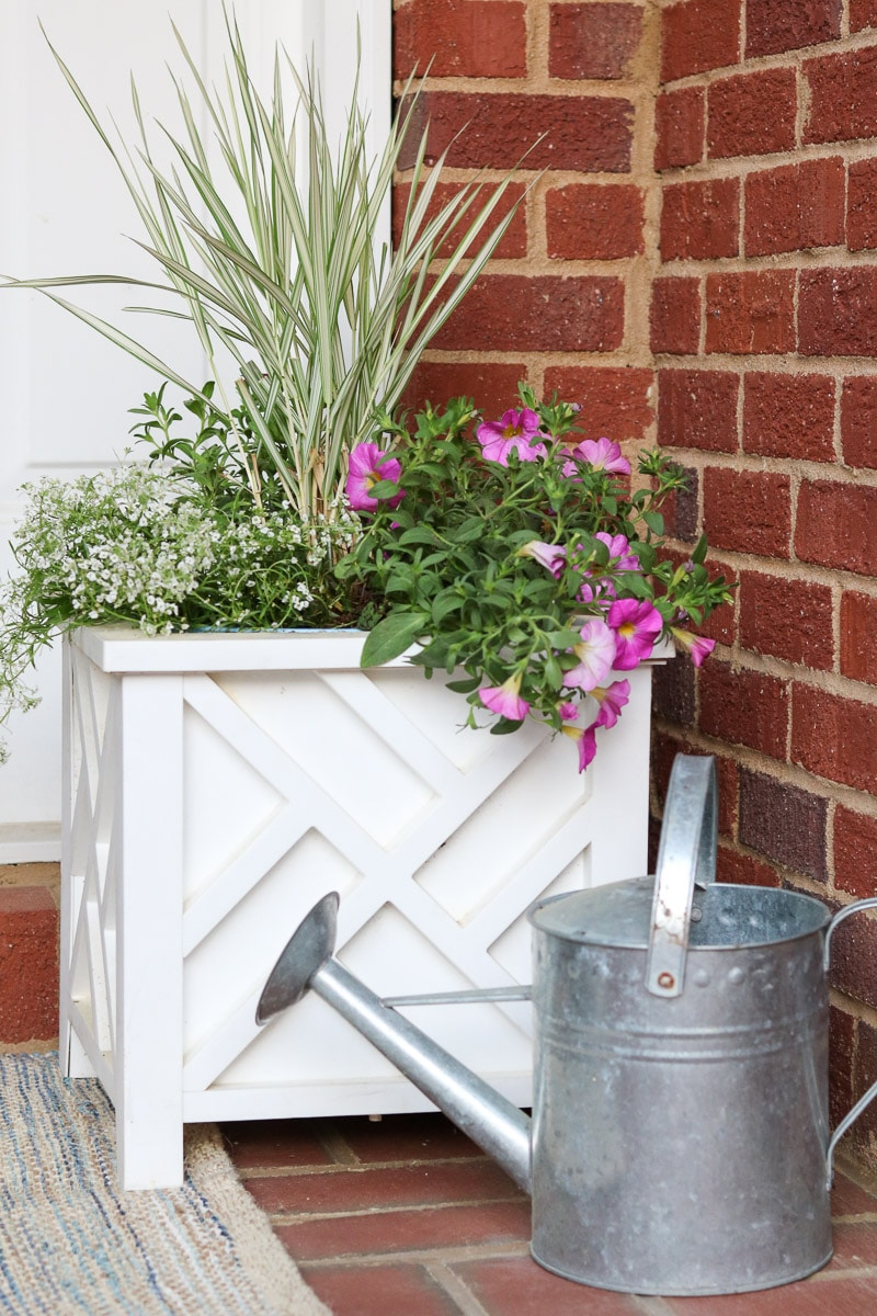 small front porch decorating ideas container flower garden
