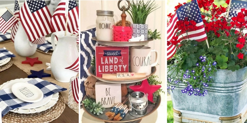Americana Home Decor Ideas