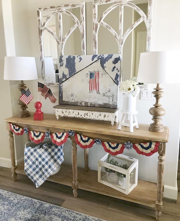 Americana Home Decor White Desert Cottage