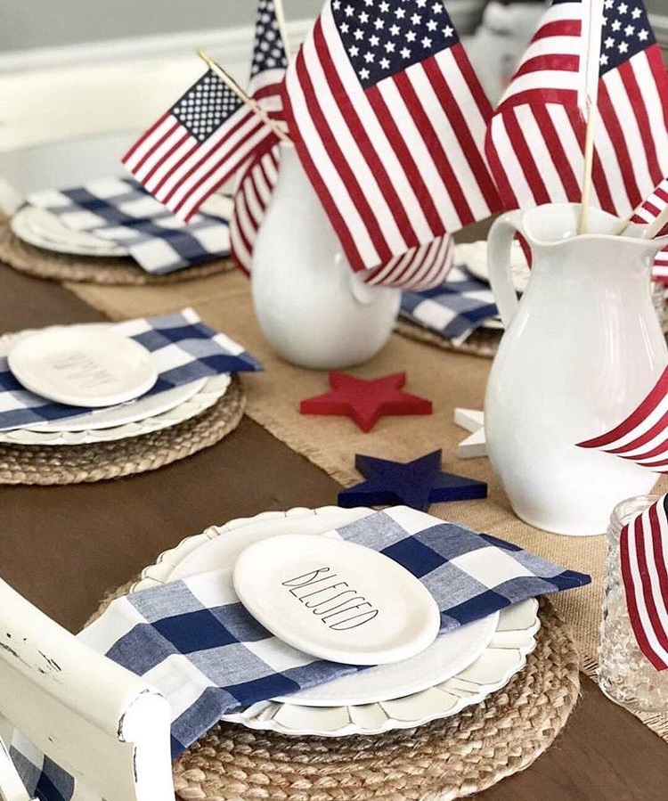 Americana Home Decor Twisted Cotton Farmhouse