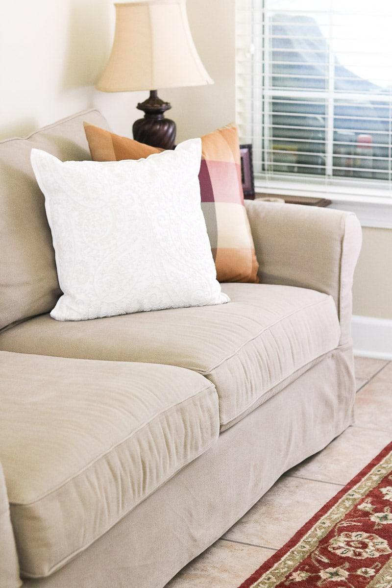 best slipcovered sofas pottery barn comfort