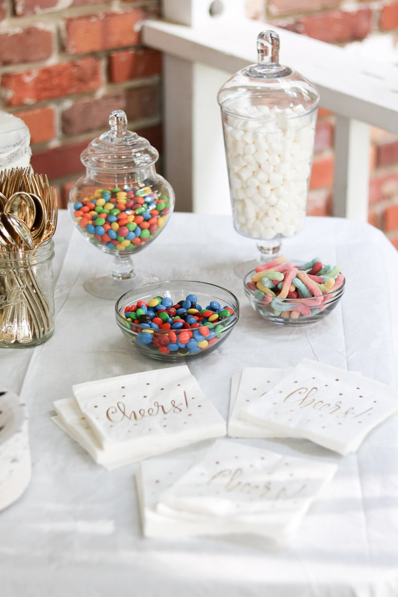 event planning checklist dessert table