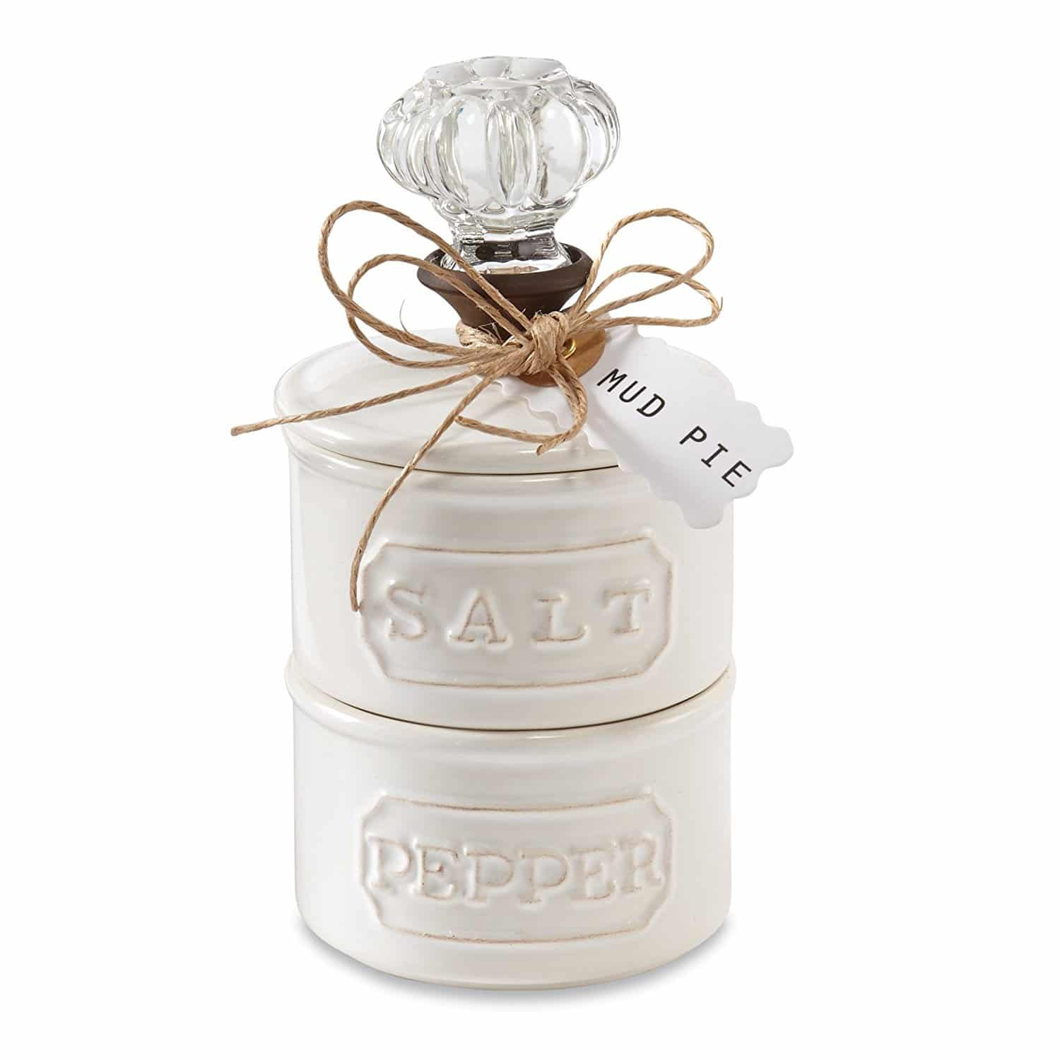 Garden party essentials mud pie salt and pepper shaker