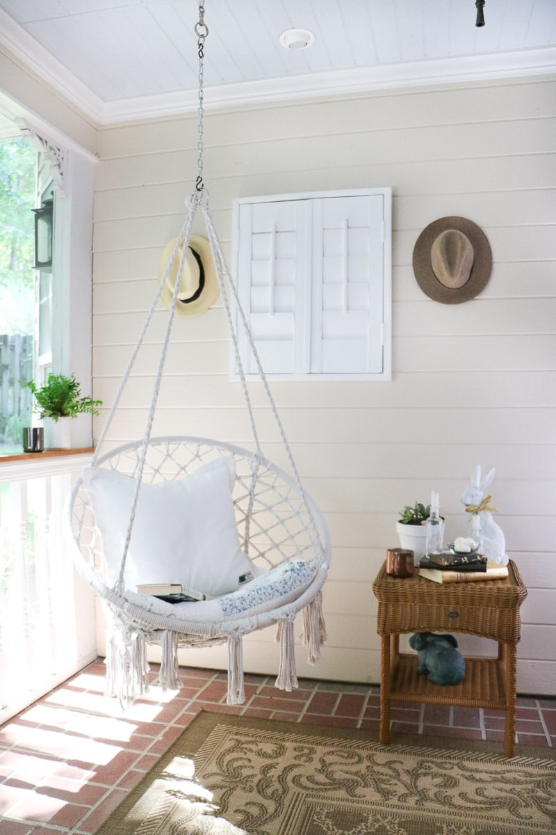 reading nook side table