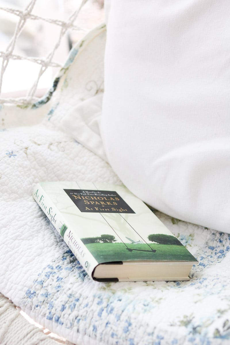 reading nook pillow and blanket