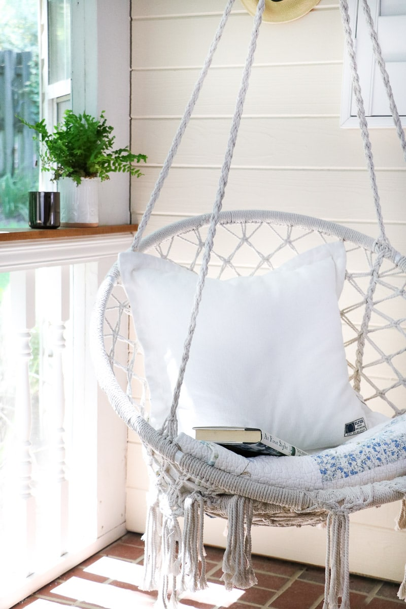 reading nook hammock swing