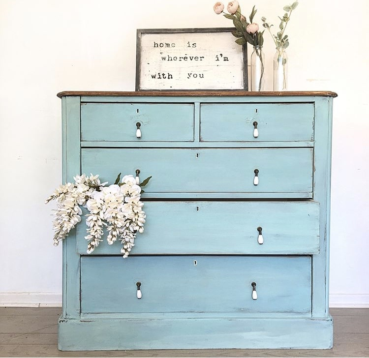 Milk Paint Colors Blue Peaches Furniture