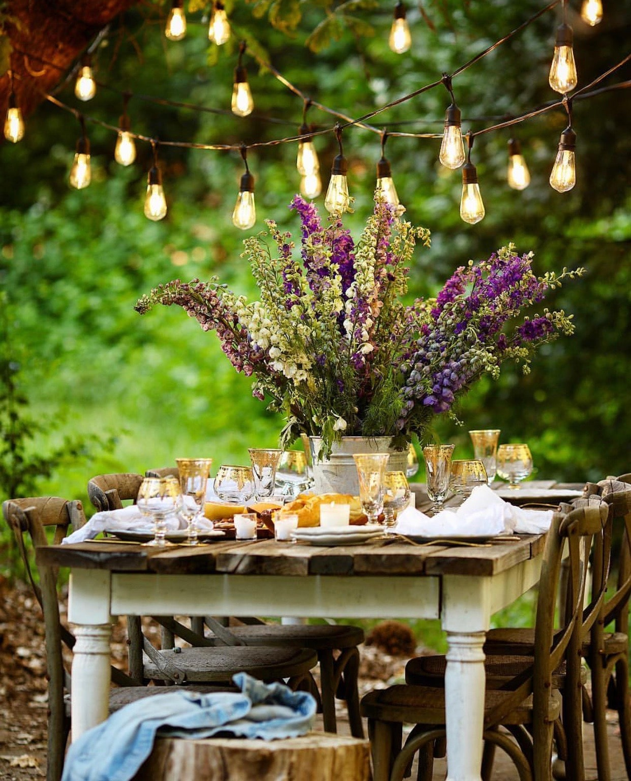 outdoor party decoration ideas french country cottage