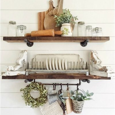 8 IDEAS FOR PERFECTLY STYLED SHELVES