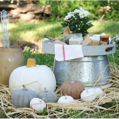 OUTDOOR FALL DECOR WITH A LITTLE SOMETHING S'MORE