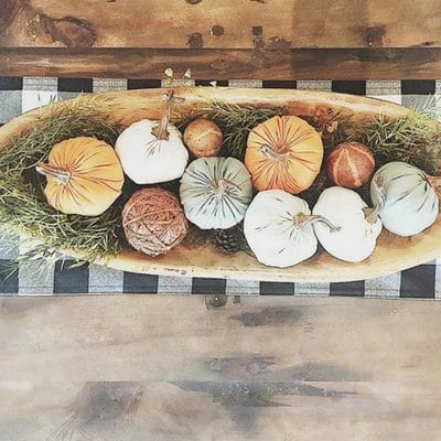 DECORATING WITH DOUGH BOWLS TO BRING THE PAST TO THE PRESENT