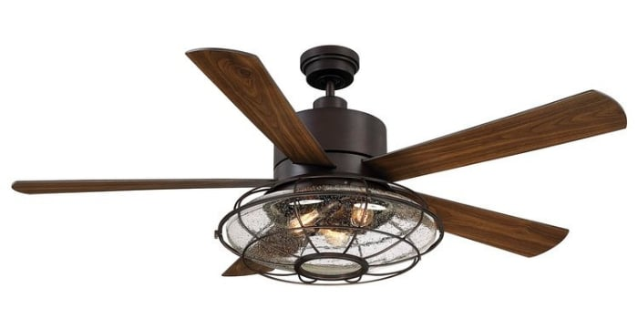 "Fixer Upper Ceiling Fan 56"" Roberts 5 Blade Ceiling Fan with Remote Control"