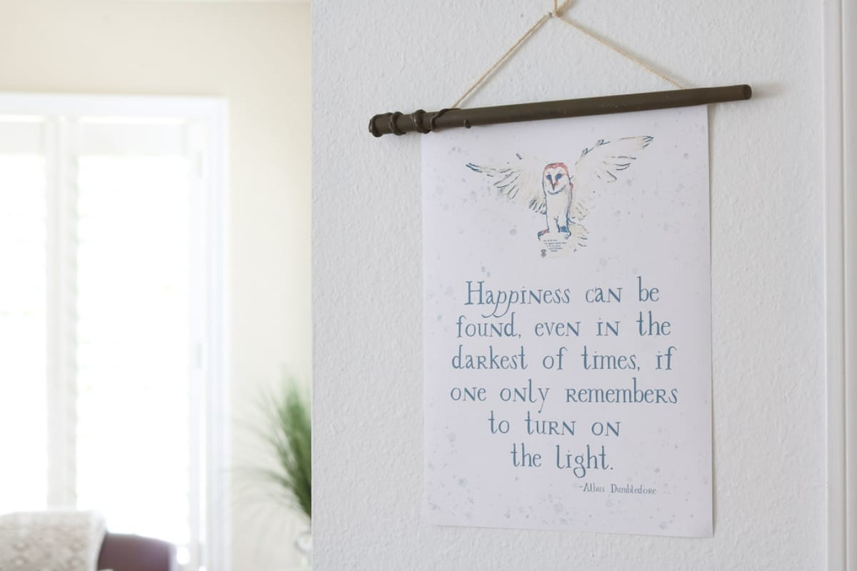 Add Magic To Home With Harry Potter Free Printables