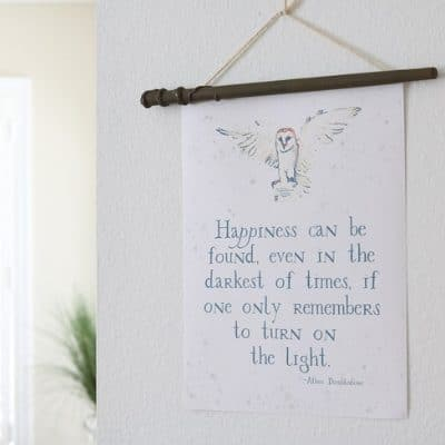 ADD SOME MAGIC TO YOUR HOME WITH HARRY POTTER FREE PRINTABLES