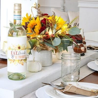 HEARTWARMING THANKSGIVING TABLE DECORATIONS DIY TO TRY