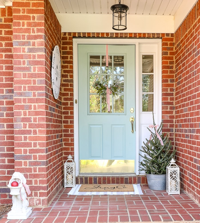Christmas decorating ideas for front porches