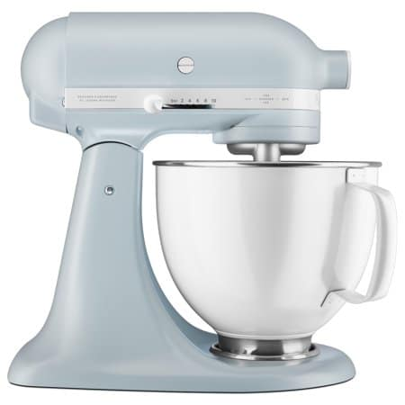 Kitchenaid mixer powder blue with white bowl anniversary edition