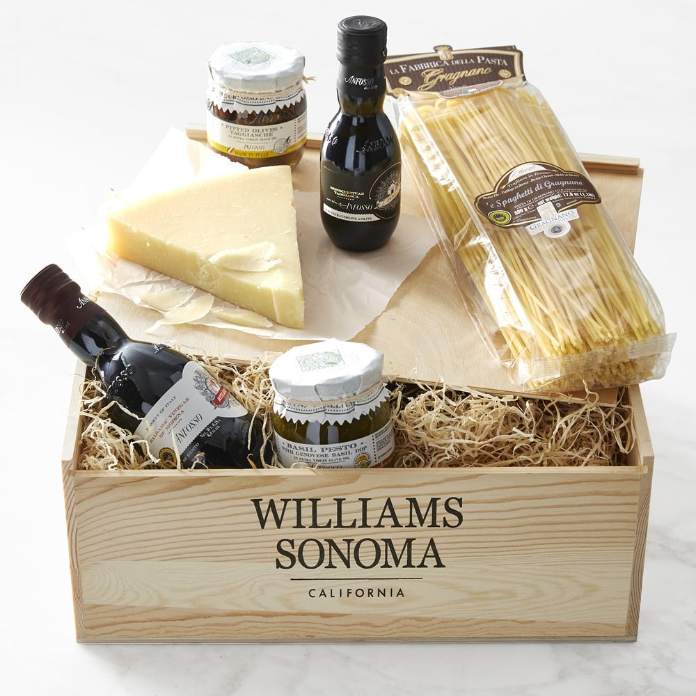William Sonoma gift basket