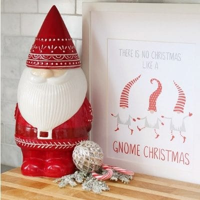 CHRISTMAS PRINTABLE DECOR THAT YOU'LL LOVE THE PRICE OF – FREE –