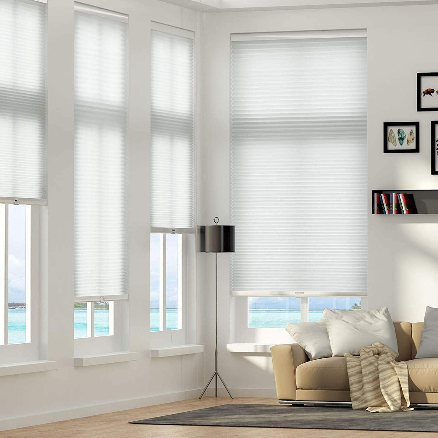 Curtains that keep the cold out honeycomb cellular shades