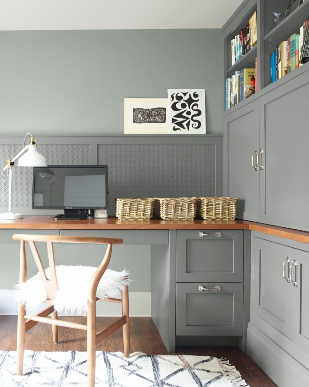 paint color of the year Benjamin Moore Metropolitan