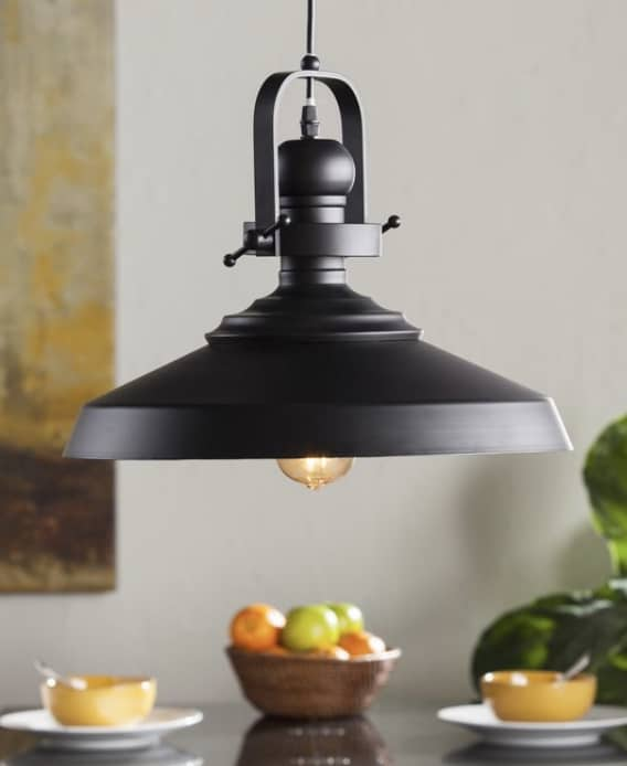 Industrial Pendant Lighting 1 Light Cone Pendant
