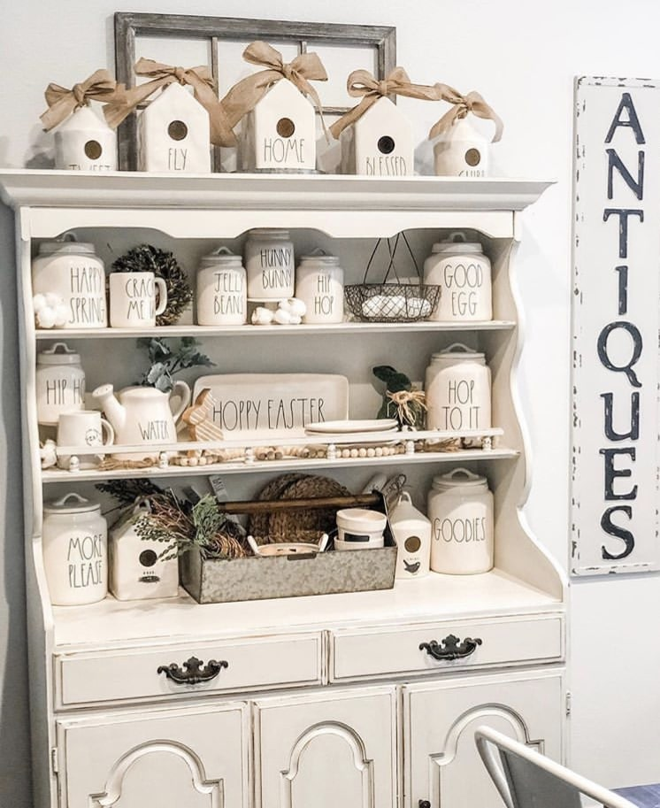 What Is Rae Dunn by Sweet Embellished Life with a hutch