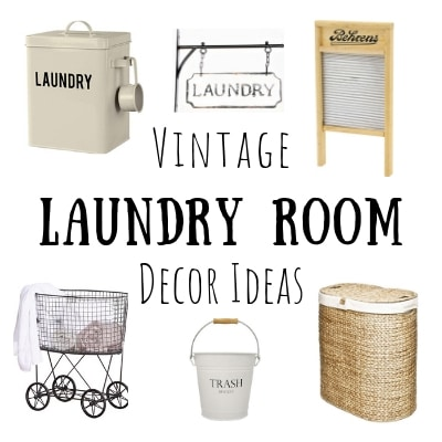 Vintage Laundry Room Decor Life On Summerhill