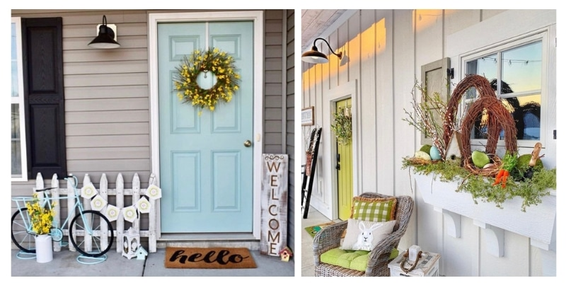 Spring Front Porch Decorating Ideas Life On Summerhill