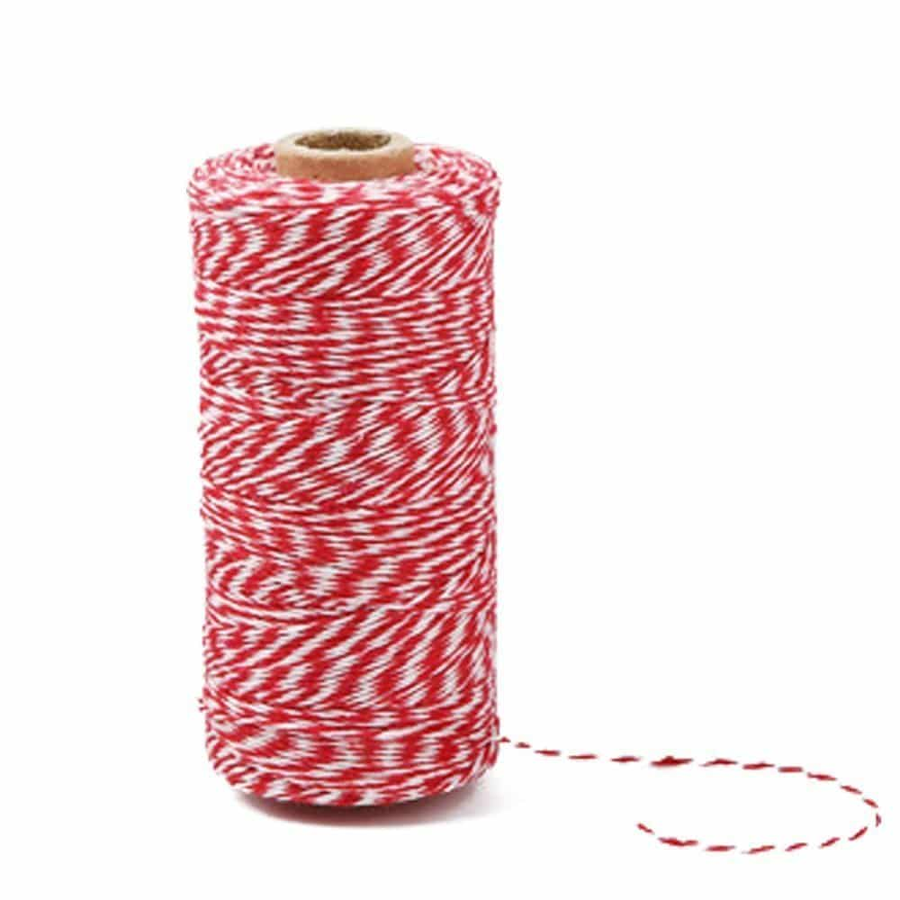 Italian Themed Dinner Party Red and White Twine