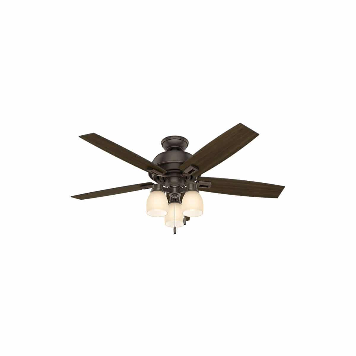 "Affordable farmhouse ceiling fan 44"" Donegan 5 blade ceiling fan"