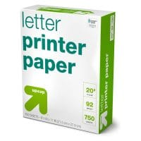 Printer Paper Letter Size 20lb 750ct White - Up&Up™