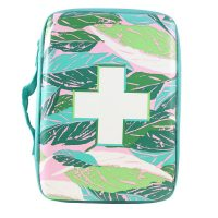Band-Aid Jungalow Brand Build Your Own First Aid Kit Bag