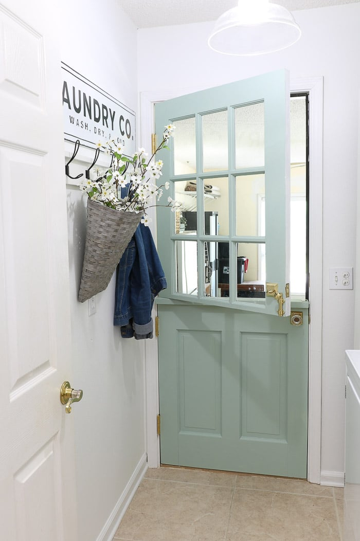 DIY exterior dutch door