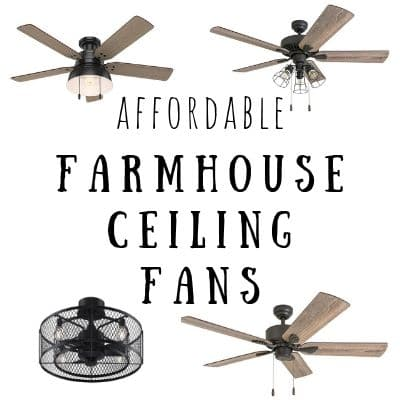 10 Affordable Modern Farmhouse Ceiling Fans Life On Summerhill