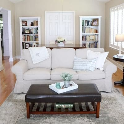 affordable slipcovered sofas