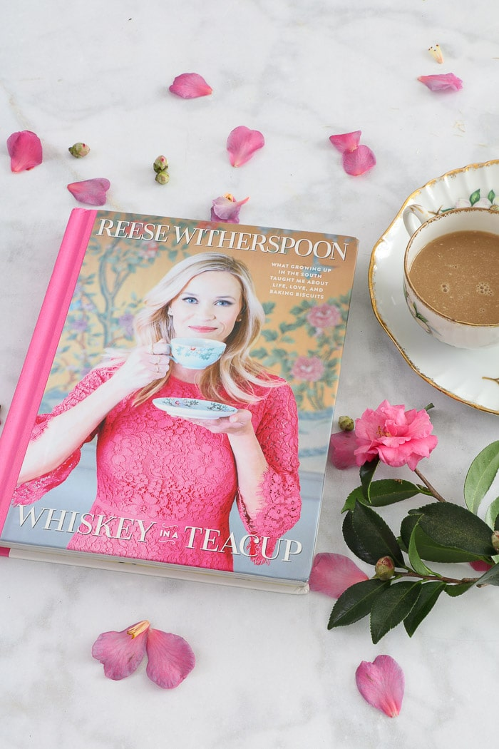 Bridal shower advice in the Reese Witherspoon book called Whiskey in a Teacup