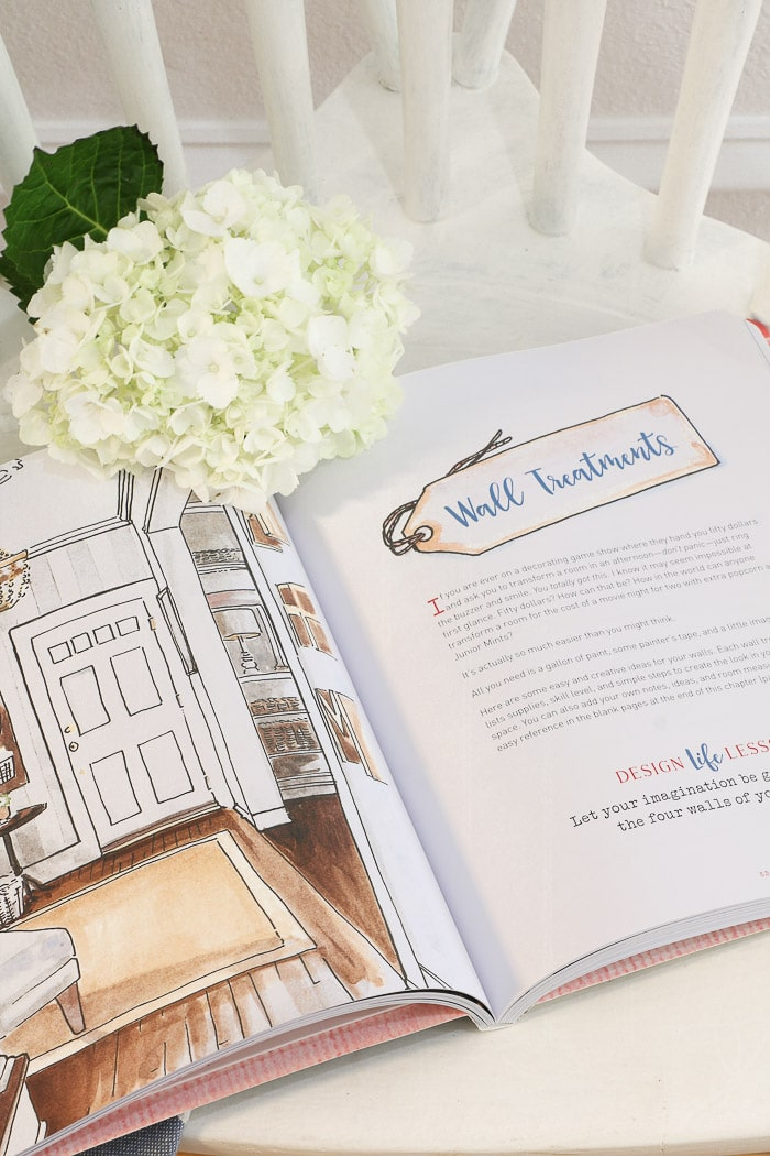 Inside of The DIY Home Planner by KariAnne Wood.