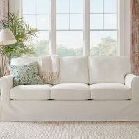 Pottery Barn Slipcover Sofa