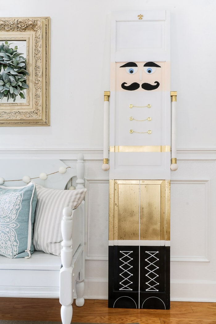 DIY life size nutcracker